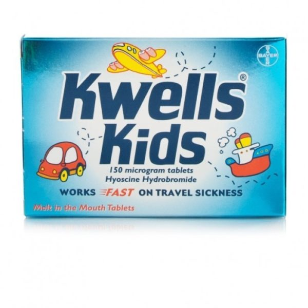 Box of 150 Kwells Kids Microgram Tablets