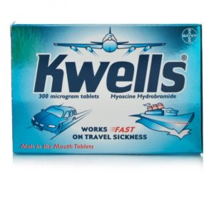 Box of 300 Kwells Microgram Tablets