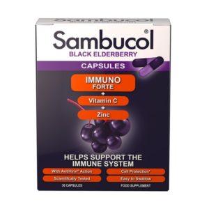 Sambucol Black Elderberry immuno Forte Capsules