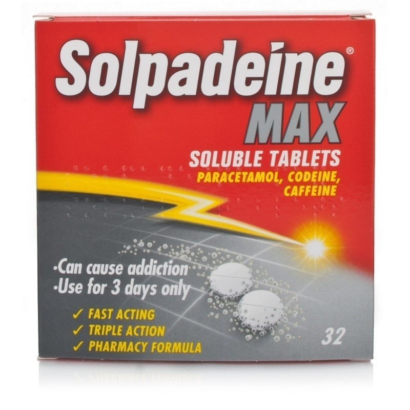 Pack of 32 Solpadeine Max Tablets