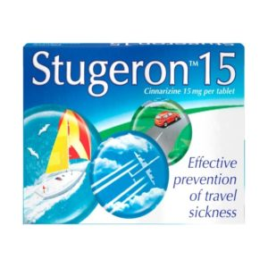 Box of Stugeron 15 Tablets