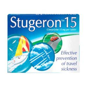 Stugeron Travel Sickness Tablets 15mg