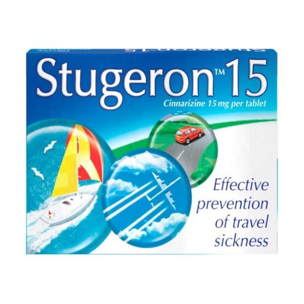 Box of Stugeron 15 Tablets
