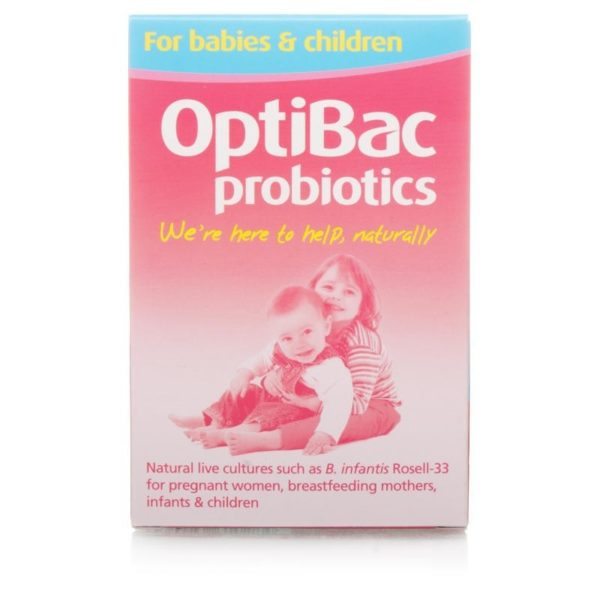 Opticbac Probiotics for Babies & Children