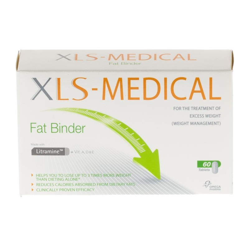 Xls medical fat binder tablets 60