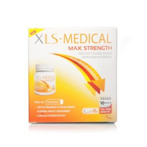 Box of 40 XLS-Medical Max Strength Tablets