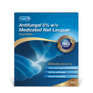 Amorolfine 5% w/v Medicated Nail Fungal Treatment Lacquer 3ml