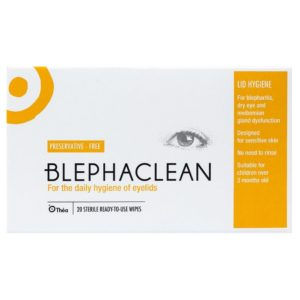 Blephaclean Sterile Eyelid Cleansing Wipes