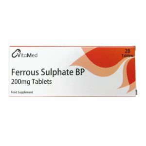 Pack of 28 VitaMed Ferrous Sulphate BP Tablets