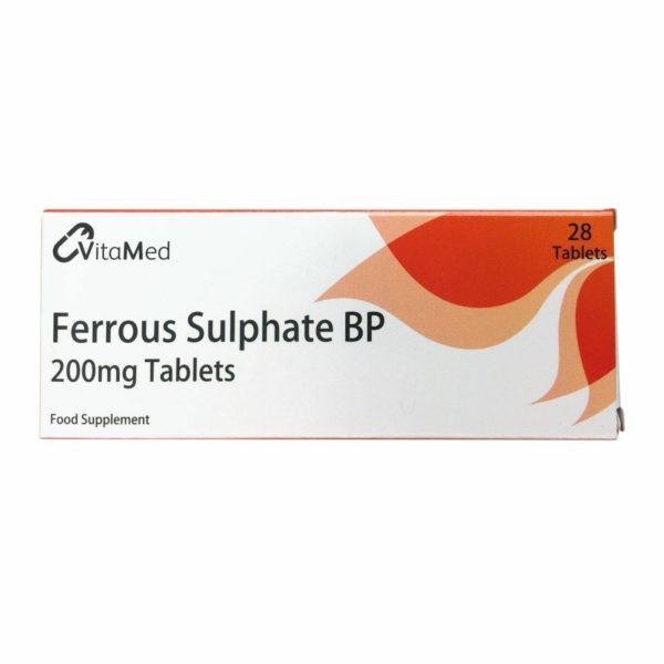 Pack of 28 VitaMed Ferrous Sulphate BP Tablets