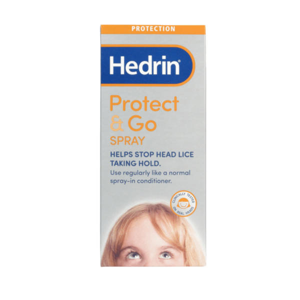 Hedrin Protect and Go Spray 120ml