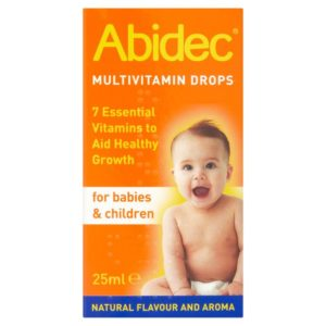 Abidec Multivitamin Drops