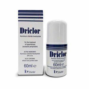 driclor antiperspirent roll-on 60ml