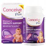 Conceive Plus Women's Fertility Support 60 Capsules