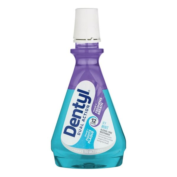 Dentyl Dual Action Icy Mint Mouthwash
