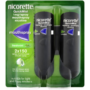 Nicorette Quickmist 1mg Mouthspray Freshmint Duo
