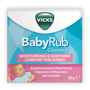 Vicks soothing moisturising Baby Rub