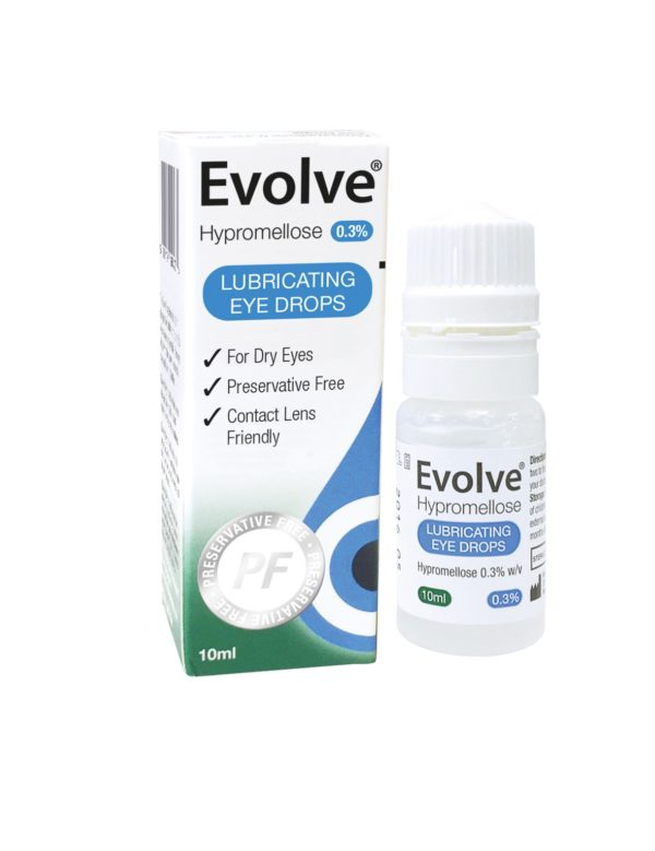 Evolve Hypromellose Eye Drops