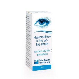 Medicom Healthcare Hypromellose Eye Drops