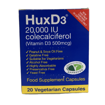 Hux D3 20000 Pack of 20
