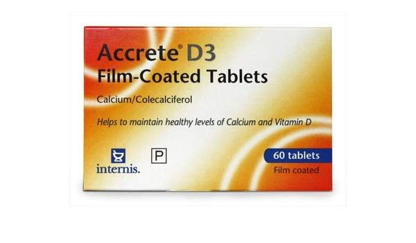 Accrete D3 Film Coated Tablets