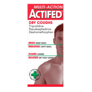 Actifed Multi Action Dry Coughs 100ml