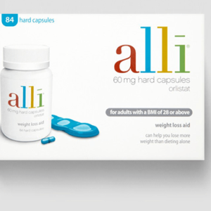 Alli 60mg hard capsules 84