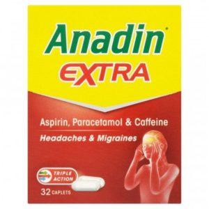 Anadin Extra 32 Caplets