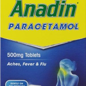 Anadin Paracetamol Pack of 16