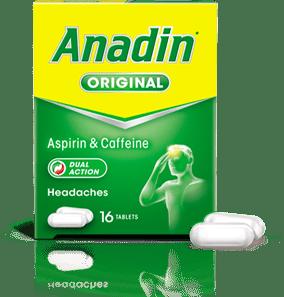 Anadin Original 16 caplets