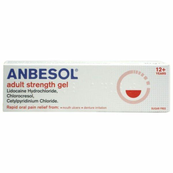 Anbesol Adult Gel 10g