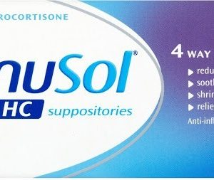 Anusol Plus HC Suppositories Pack of 12