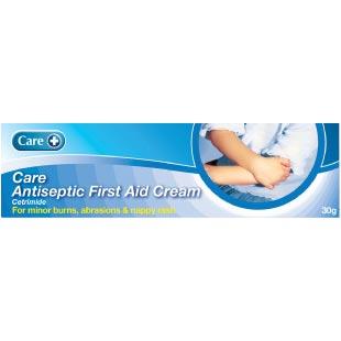 Care + Antiseptic First Aid Cream