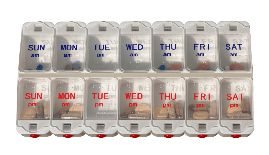Use a pill box