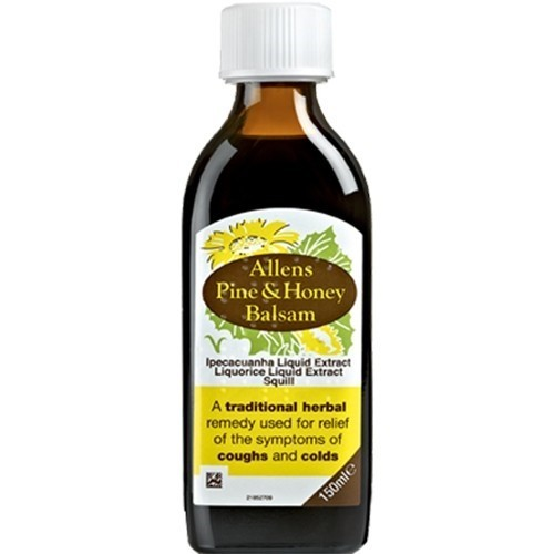 Allens Pine Honey Balsam 150ml