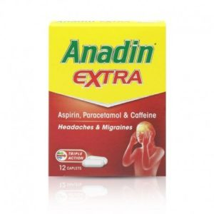 Anadin Extra Caplets 12