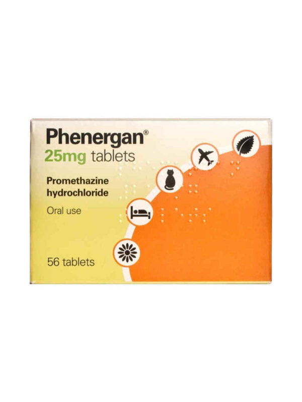 Phenergan 25mg tablets