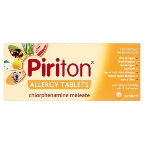 Piriton tablets 60