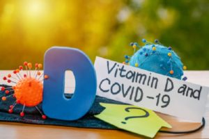the words vitamin d and coronavirus - a blog exploring the link betwwen vitamin d and coronavirus.
