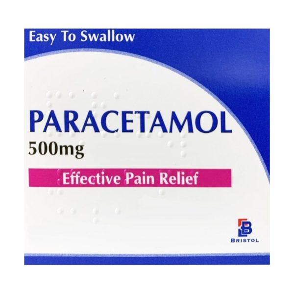 Paracetamol 500mg caplets
