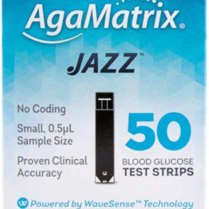Agamatrix Wavesense Jazz Test Strips