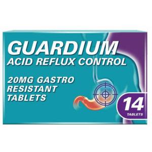 Guardium Acid Reflux Control Tablets Pack of 4